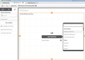 Qlik Sense DrillDown implementieren in der Analyse