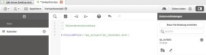 Qlik Sense QVS-Datei einbinden