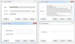 MEHRWERK Qlik SAP Cloud Connector Datensätze auswählen