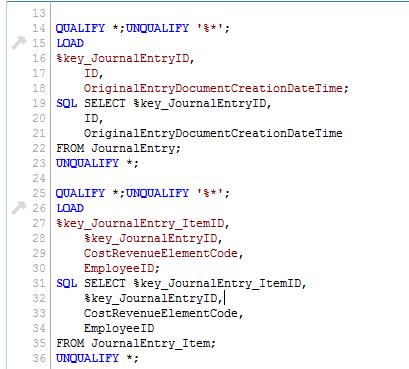 MEHRWERK Qlik-SAP-Cloud-Connector Load-Statement