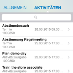 SAP Cloud for Sales - MobileApp 5