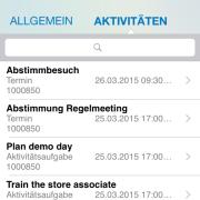 SAP Cloud for Sales - MobileApp 5