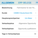 SAP Cloud for Sales - MobileApp 6