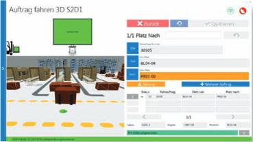 Staplerleitsystem für SAP ERP - Staplerdialog 2