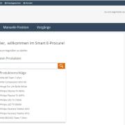 eProcure SAP ERP Katalogsuche