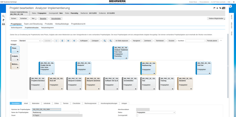 SAP Business ByDesign Projektmanagement 1