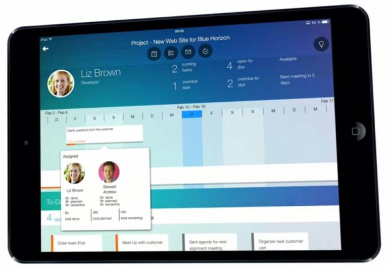 SAP Business ByDesign iOS Applikation Projektmanagement