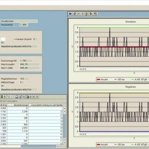 Dispositionslösung; Simulation Regelkreis Dimensionierung