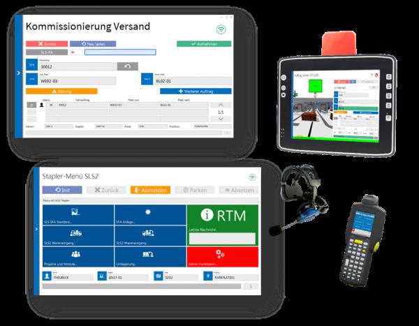 Mobile Datenerfassung Versand mit SAP ERP
