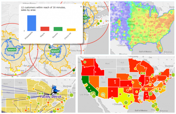 Geo Analysen in QlikView und Qlik Sense