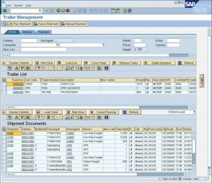 SAP Multi Carrier Transportmanagement mit ShipERP - Trailor Management