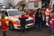 Weihnachtsspenden für die Region: Kindernotarzt und Karlsruher Tafel