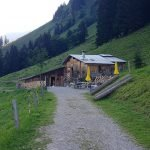 Hütte Rückweg