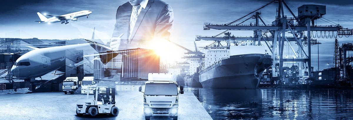 Global business of Container Cargo freight train for Business logistics concept, Air cargo trucking, Rail transportation and maritime shipping, Logistics business concept, distribution, delivery, service, shipping, logistic, transport,