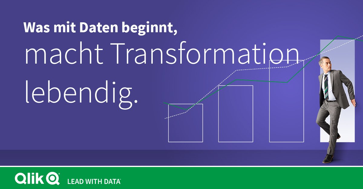 Digitale Transformation lebendig machen mit Qlik