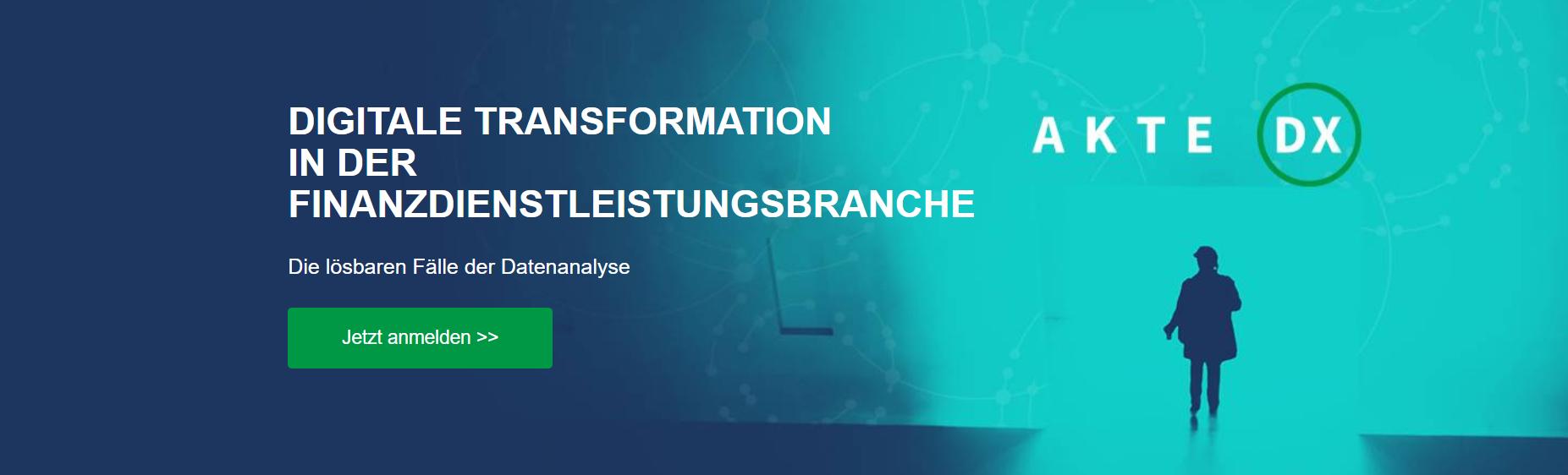 Digitale Transformation in der Finanzdienstleistungsbranche