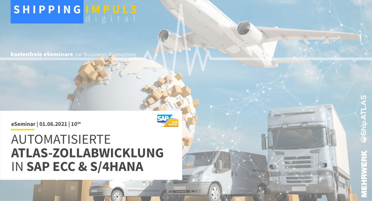 Automatisierte ATLAS-Zollabwicklung in SAP ECC & S/4HANA