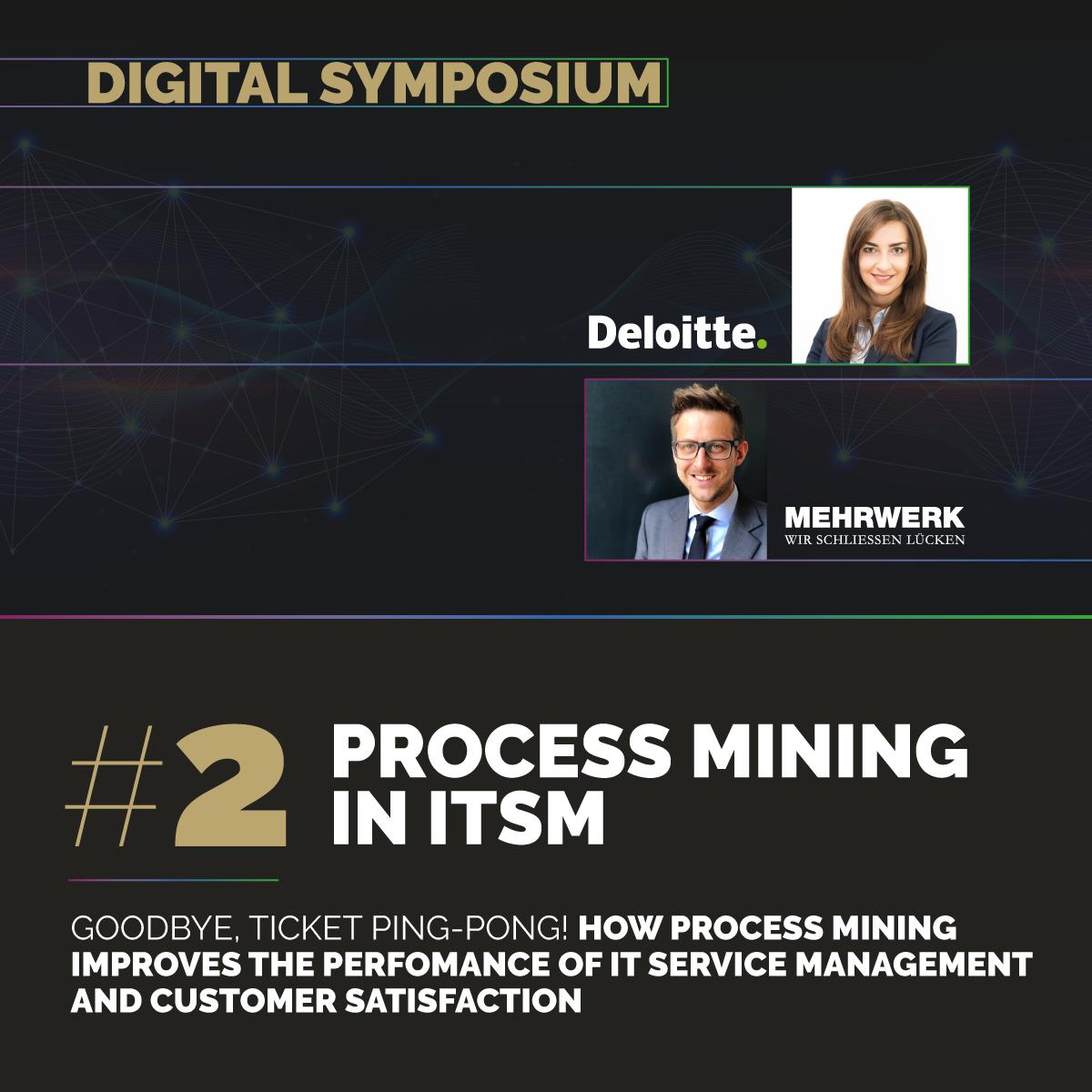 Digital Symposium #2 | Process Mining im ITSM