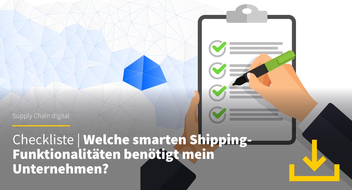 Checkliste Smart Shipping