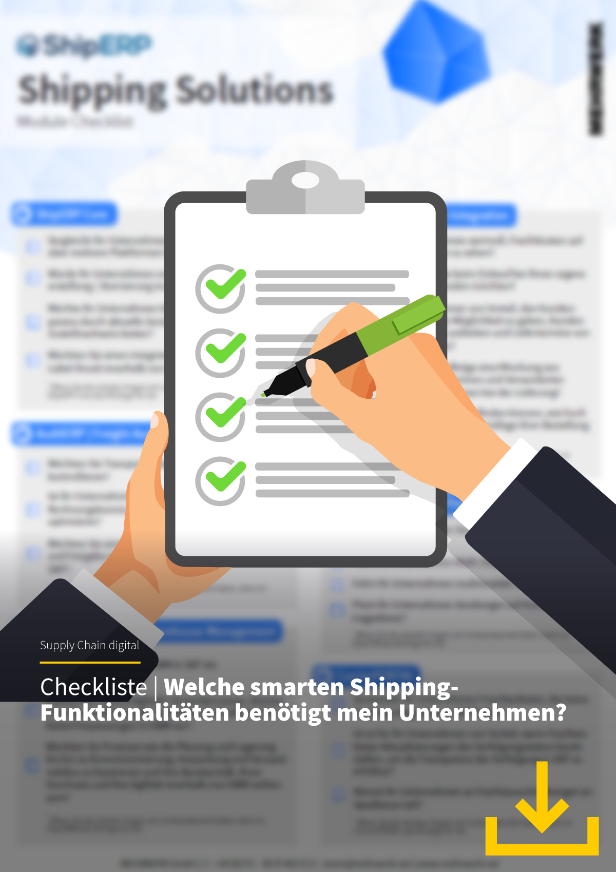 """Checkliste """"Smart Shipping"""""""