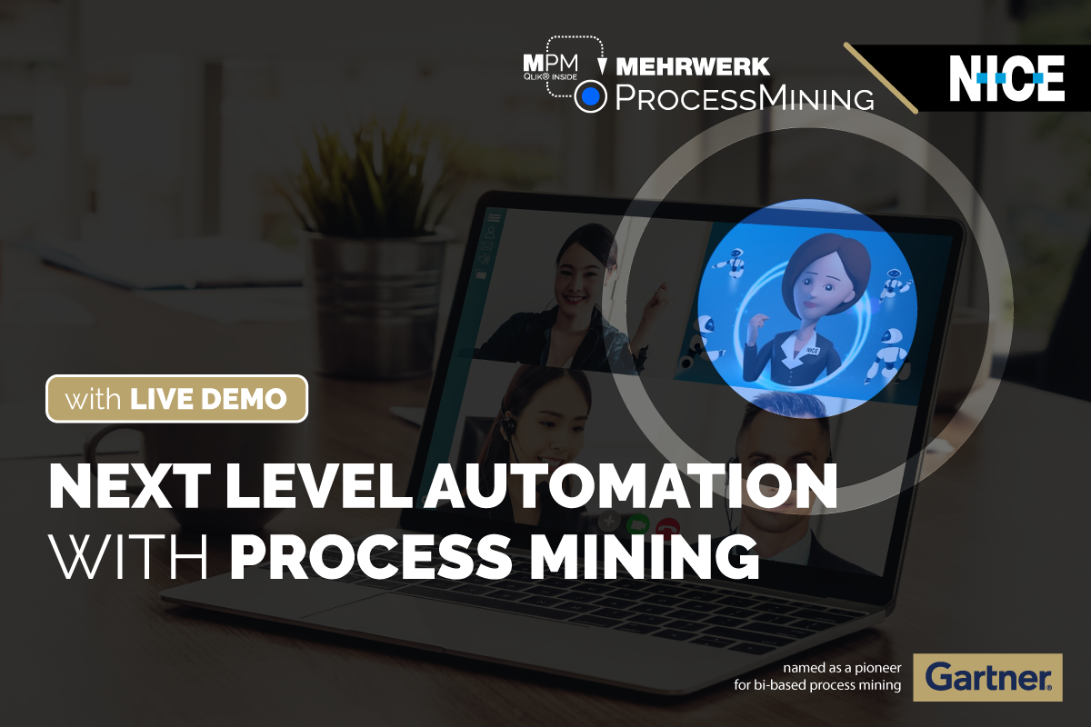 eSeminar mit Live Demo, 17.06. | Next Level Automation with Process Mining
