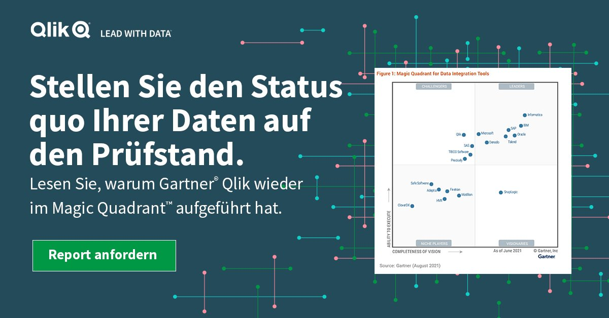 2021 Gartner® Magic Quadrant™ for Data Integration Tools