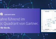 "Qlik ist ein ""Leader"" im Gartner Magic Quadrant for Analytics and BI Platforms 2021"