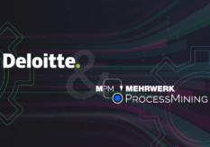 MEHRWERK ProcessMining (MPM) und Deloitte schließen Partnerschaft
