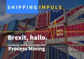Smarte Versand- und Zollabwicklung in SAP: Brexit, hallo. Zeitfresser, goodbye. | Shipping IMPULS 2021